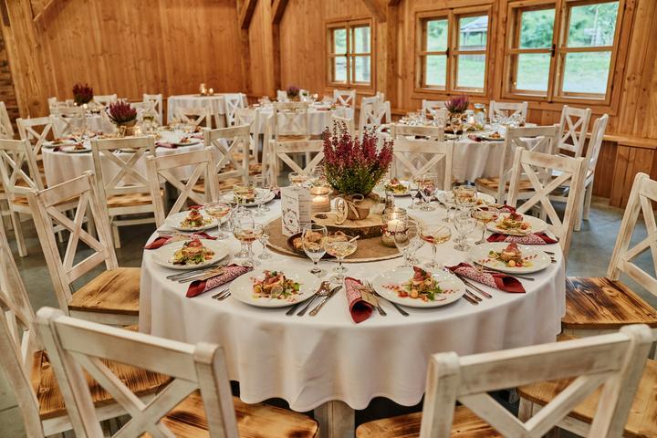 prírodná vintage svadobná výzdoba