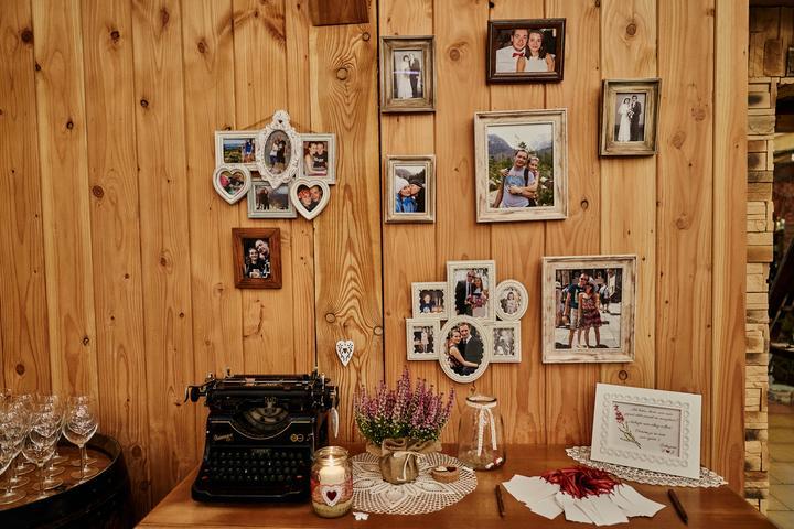 vintage a shabby chic svadobná výzdoba