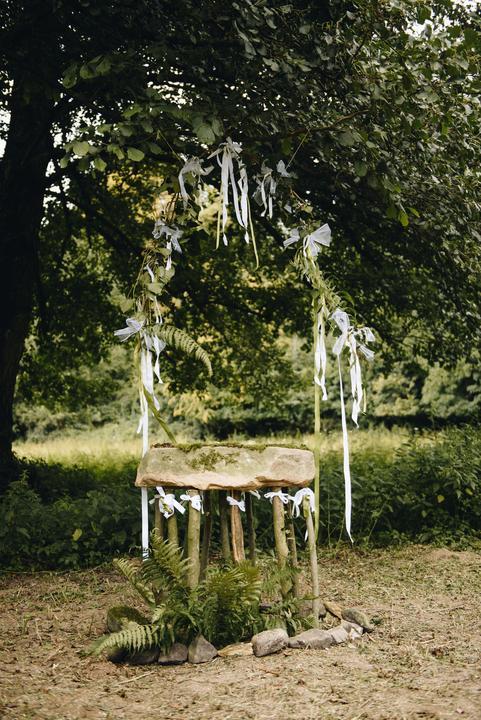 prírodná svadobná slávobrána
