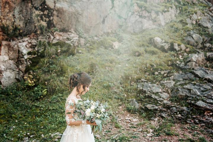 jednoduché svadobné šaty