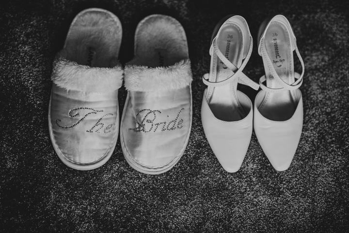 svadobné papuče