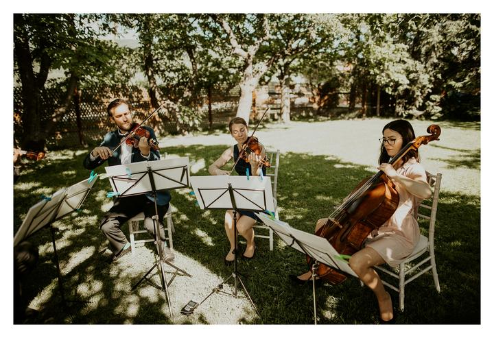 sláčikové kvarteto na svadbu