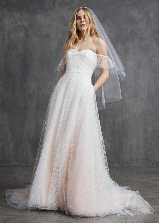 vzdušné svadobné šaty Kelly Faetanini, model Ruby