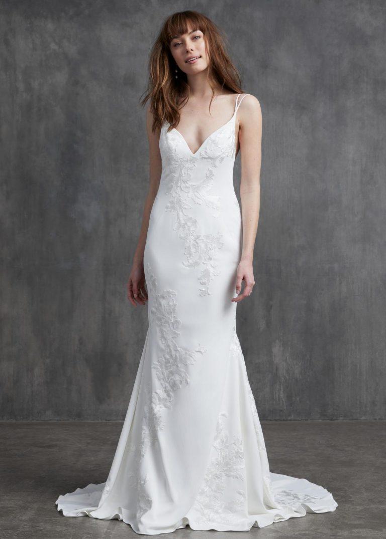 jednoduché svadobné šaty Kelly Faetanini, model Susan