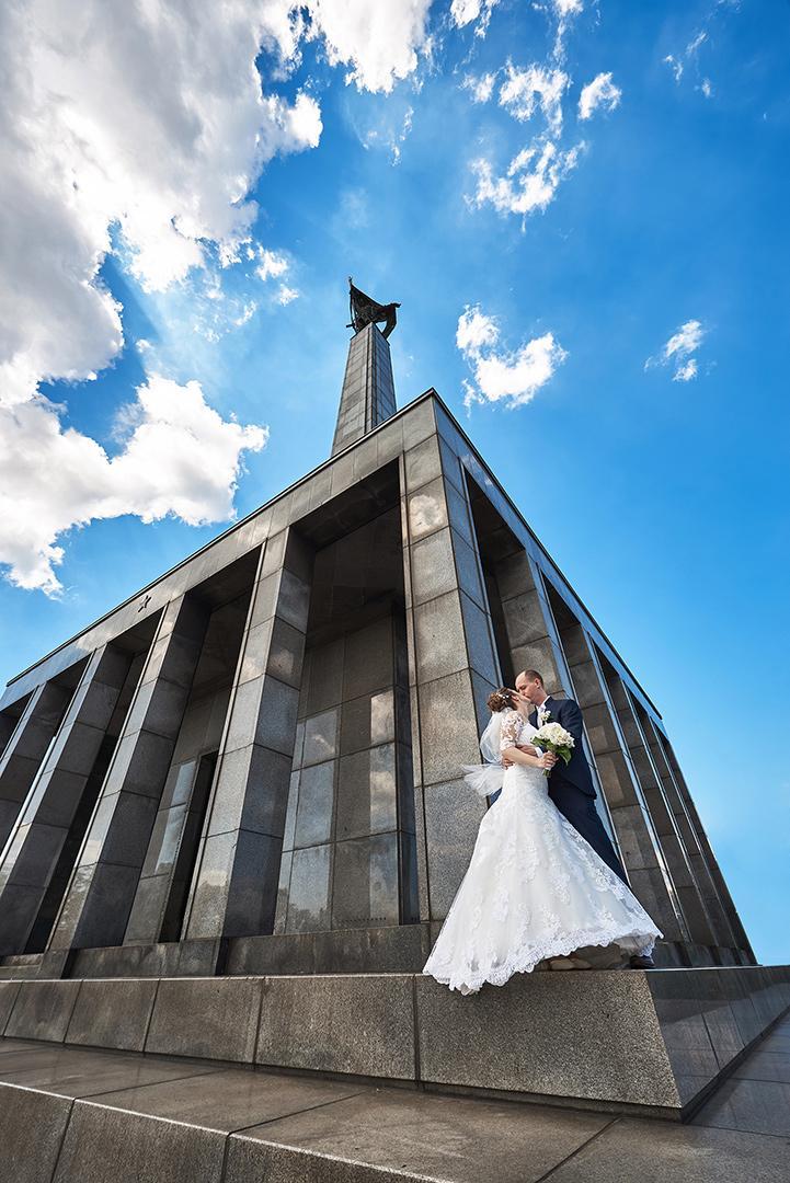 svadobné fotenie na Slavíne