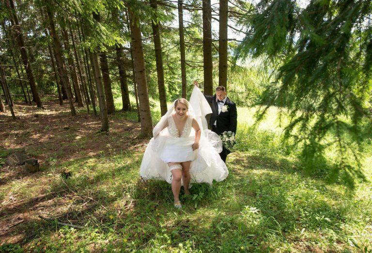 veselé svadobné fotenie