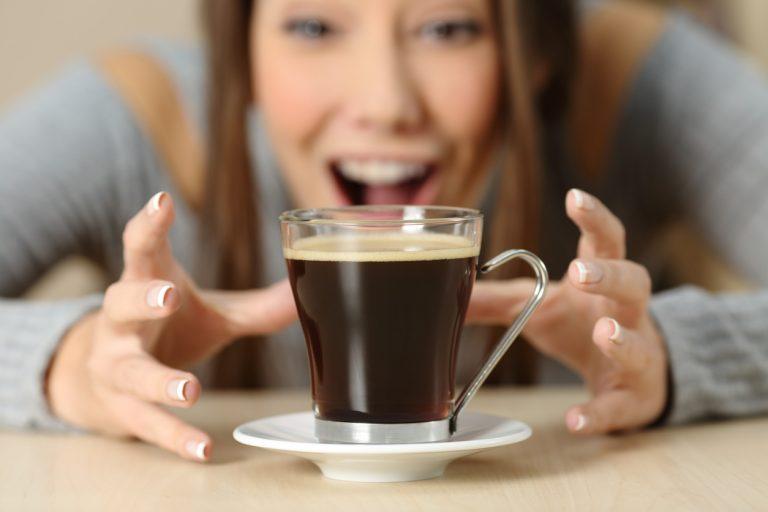 negatívne účinky kávy