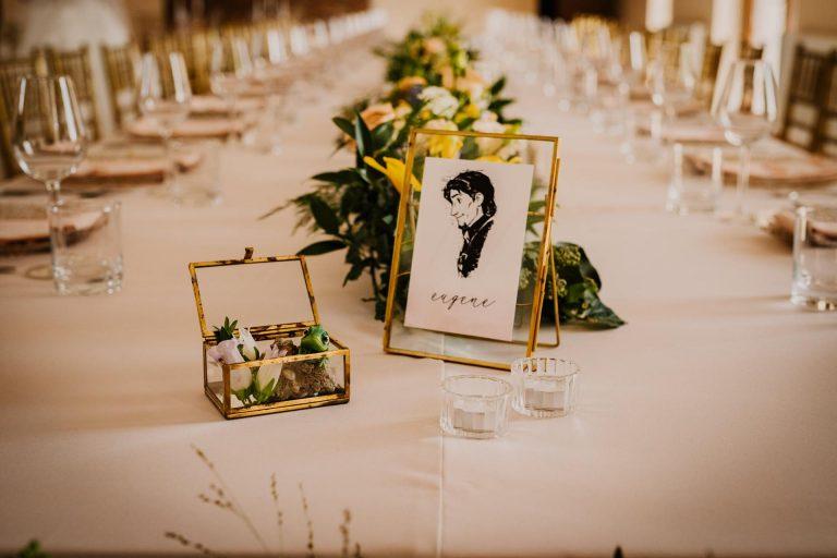 svadba inšpirovaná rozprávkou