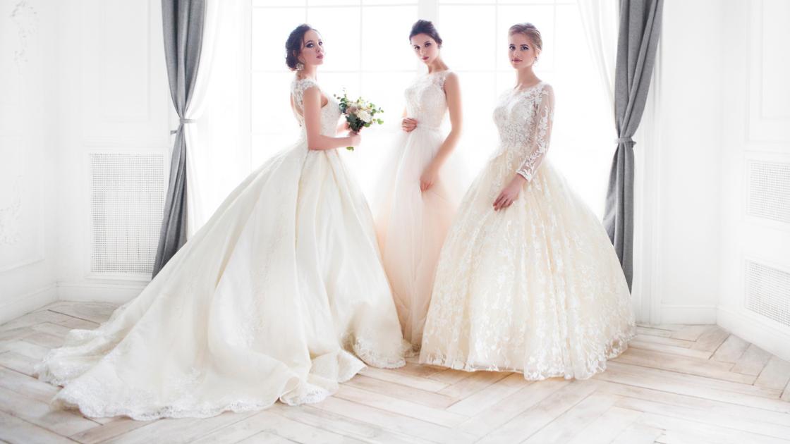 biele svadobné šaty