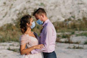 svadba počas pandémie