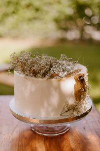jedndouchá svadobná torta